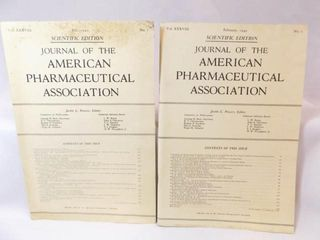 1949 Pharmaceutical Journals  2