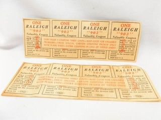 Raleigh 903 Cigarette Coupons  8