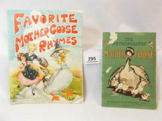 1930 s Mother Goose Books  2