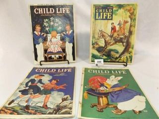 1940 s  1942 Child life Magazines  4