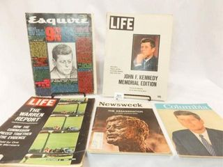 1960 s Kennedy Theme Magazines  5