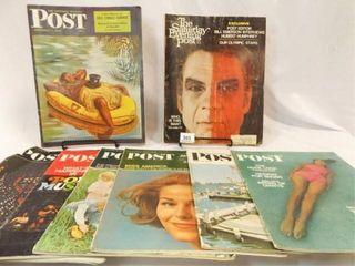 45  1960 s Post Magazines  8
