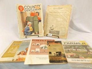 30 s   70 s Variety Farm Theme Magazines  7