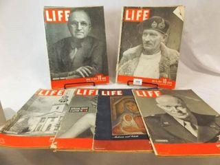 1944 1945 life Magazines  6