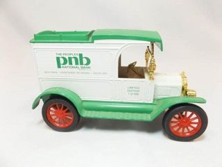 Ertl 1913 Model T Ford Van  PNB Bank