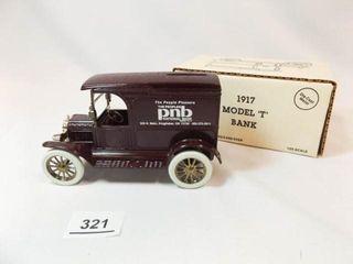 Ertl 1917 Model T Ford  PNB Bank