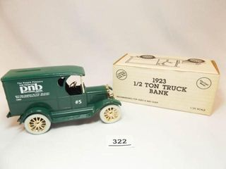 Ertl 1923 Delivery Van  PNB Bank