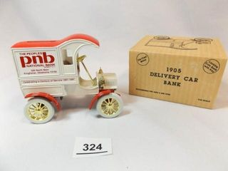 Ertl 1905 Ford Delivery Car  PNB Bank