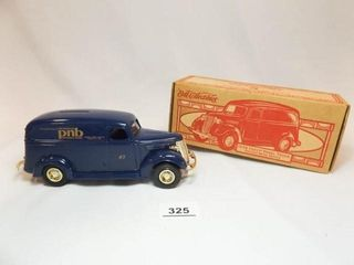 Ertl 1938 Chevy Panel Trunk  PNB Bank