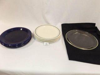 Plates  8  Pyrex Glass Plate