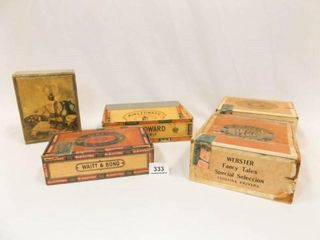 Cigar Boxes  Wood Box  5