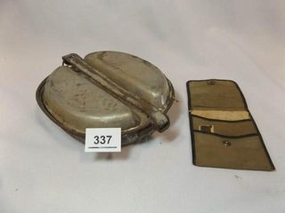 1944 Mess Kit  no utensils  US Army Razor Kit  IJ