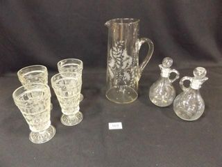 Glassware   Pitcher  Cruets  Sundae Glasses  4