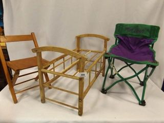 Children s Chairs  Doll Bed