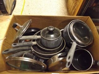 Pots   Pans   Variety   Condition issues