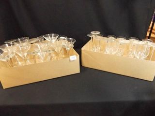 Stemware - Variety - (30+) - 2 Boxes