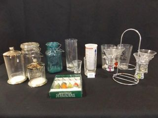 Glassware   Variety   Shot Glasses  Jars  More