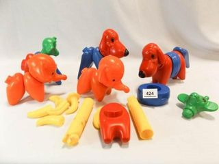 Tupperware Animal Toys