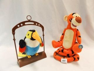 Tigger  Parrot   battery powered