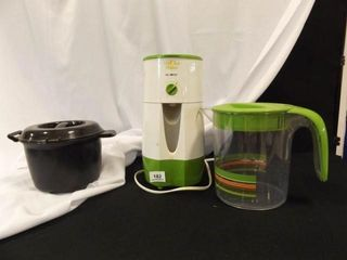 Iced Tea Maker  Pitcher  Pampered Chef Bowl
