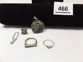Turquoise Type Jewelry  5