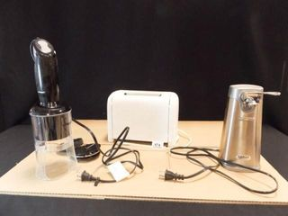 Hand blender  Toaster  Can Opener