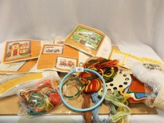 Embroidery Kits  Thread  Yard  Etc