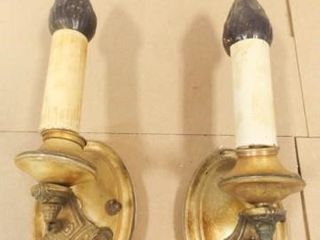 Vintage Sconces   condition issues  2