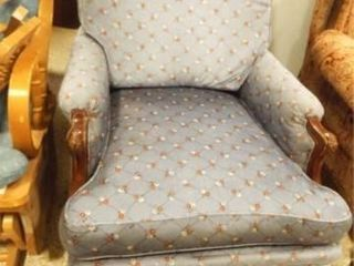Upholstered Chair  33  x 27  x 37