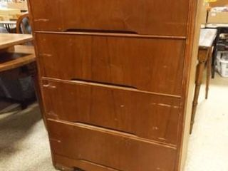 Chest of Drawers  4 Drawers  50  x 32  x 16