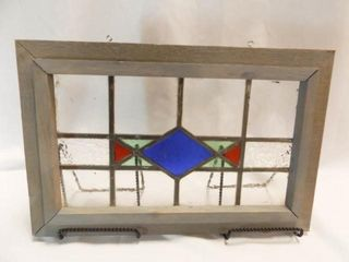 Stained Glass  Framed  191 2  x 13