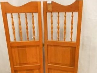 Cafe Doors  41  x 141 2  individual doors