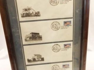 Cherokee Centennial Station Stamps  Envelopes