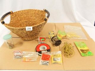 Fishing Gear  Reel  Basket