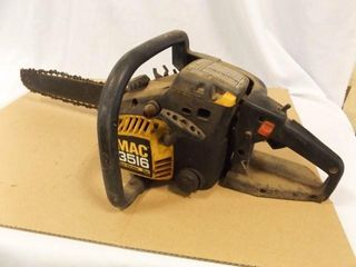 Mac 3516 Chain Saw  35CC