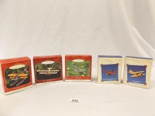 Hallmark Keepsake Airplane Ornaments  5