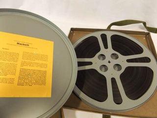 Shakespeare Macbeth Reel Movie in Box