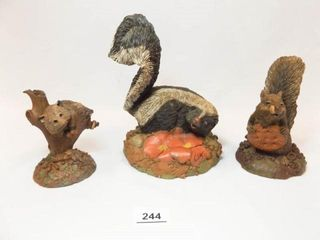 Tim Wolfe Critter Figurines  3