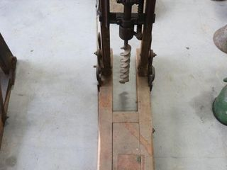 BARN BEAM BORING MACHINE 24