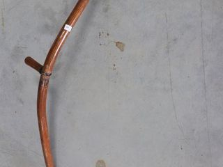WOODEN HANDlE SCYTHE