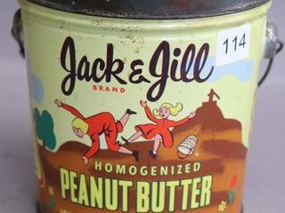 JACK   JIll PEANUT BUTTER PAIl WITH lID