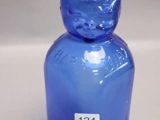 BROOKFIElD BlUE MIlK BOTTlE