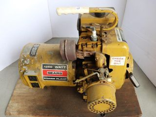 SEARS 1350 WATT AlT WITH 3 5 HP MOTOR