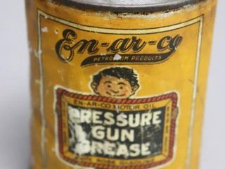 EN AR CO PRESSURE GUN GREASE   NO lID   4 5 H
