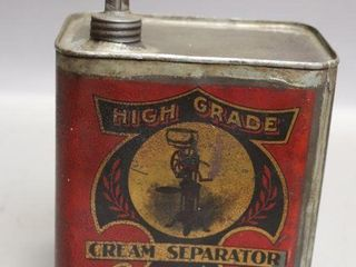 MASSEY HARRIS CREAM SEPARATOR OIl CAN