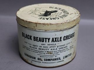 BlACK BEAUTY AXlE GREASE CAN   FUll