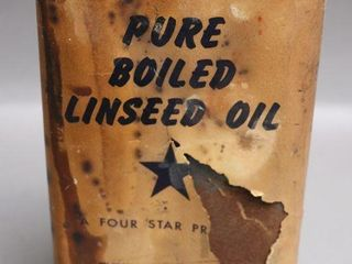 4 STAR BOIlED lINSEED CAN 2lB