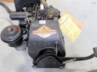 BRIGGS   STRATTON MODEl 500 ENGINE