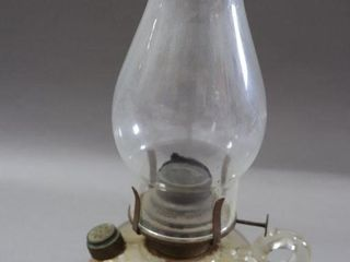 GlASS FINGER OIl lAMP   13 H