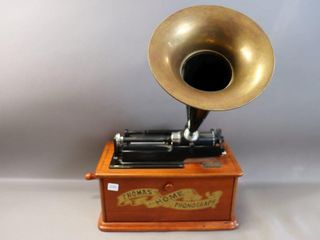 THOMAS HOME PHONOGRAPH REPRODUCTION RADIO